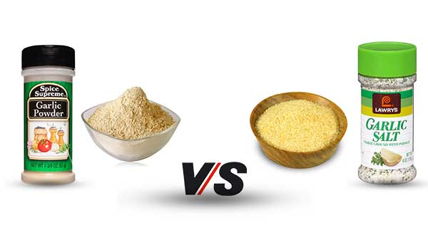 Garlic Powder Vs Garlic Salt
