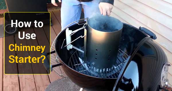 How to Use Chimney Starter