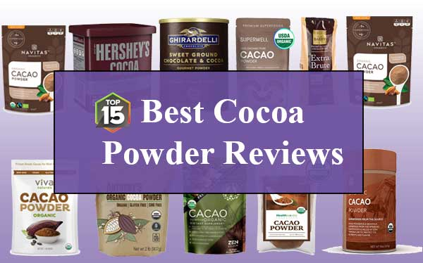 Top 15 Best Cocoa Powder Reviews By Kitchen Expert in 2019