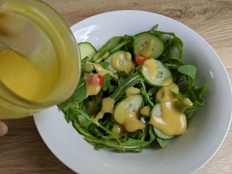 easy homemade honey mustard dressing