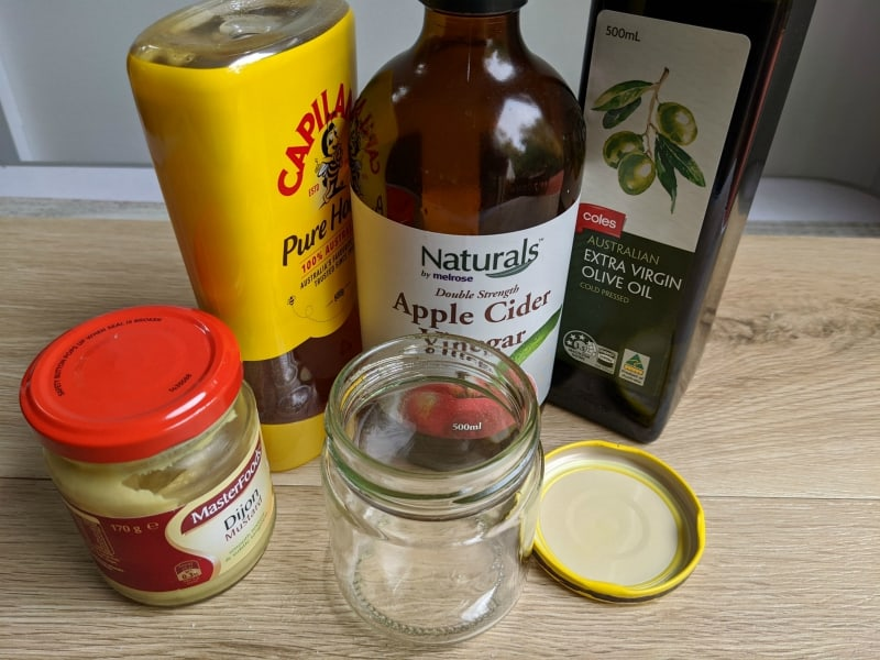 honey mustard dressing ingredients