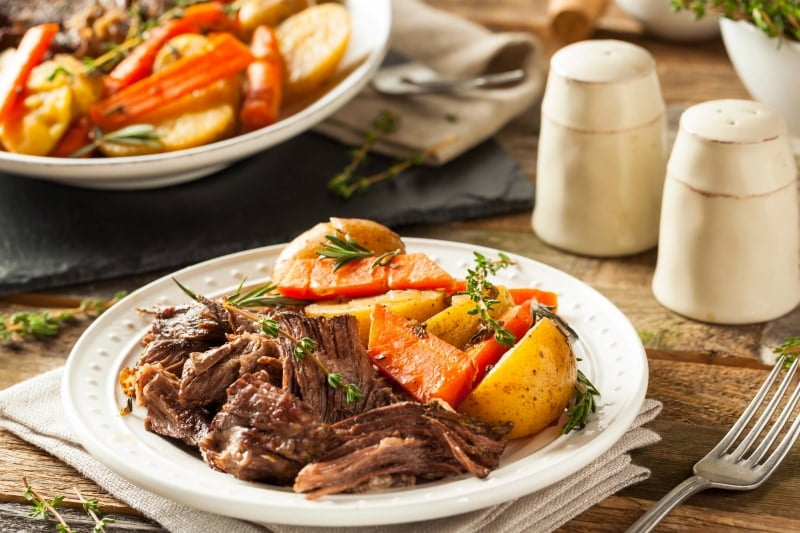 Perfect Slow Cooked Chuck Roast