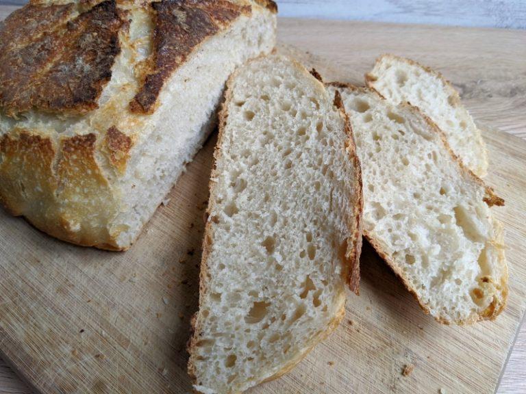 Easy Overnight Sourdough Bread Recipe With Starter