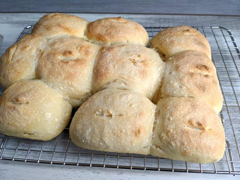small sourdough rolls