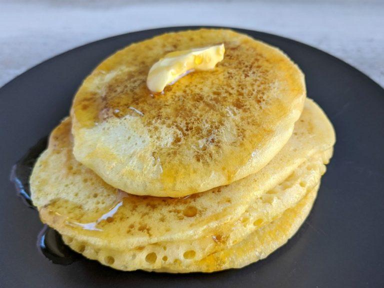 Homemade Sourdough Pancakes From Discarded Starter