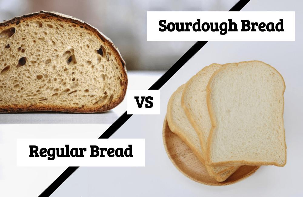 sourdough bread vs regular bread