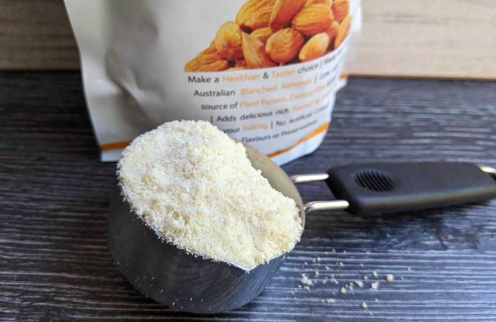 healthy almond flour brownies