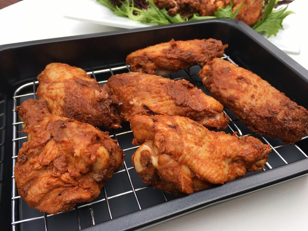 how to keep chicken crispy after frying