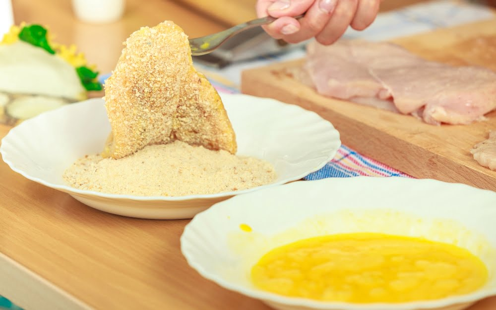 how to keep chicken crispy coating