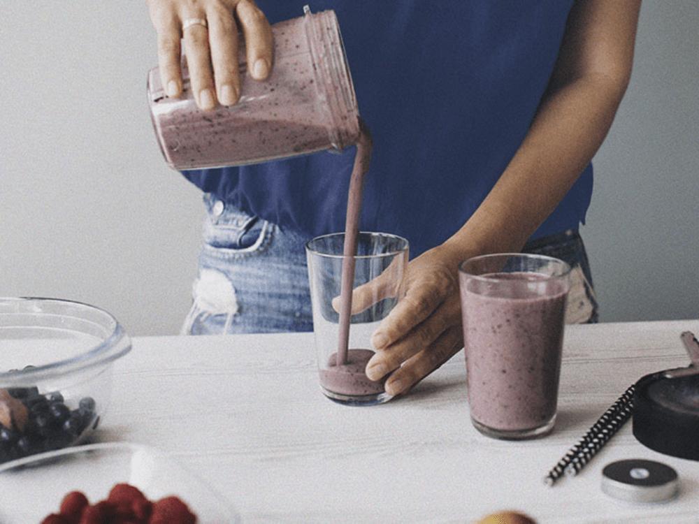 Choc berry shake blend