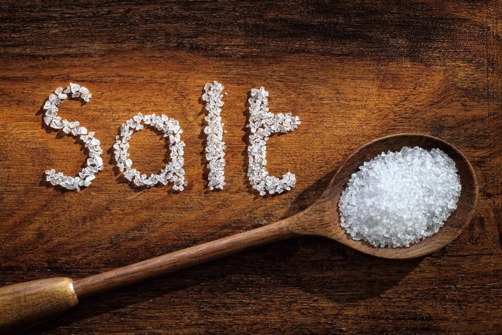 difference between rock salt and common salt